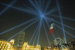 Obra de luces, Ciudad de México, Lozano Hemmer
